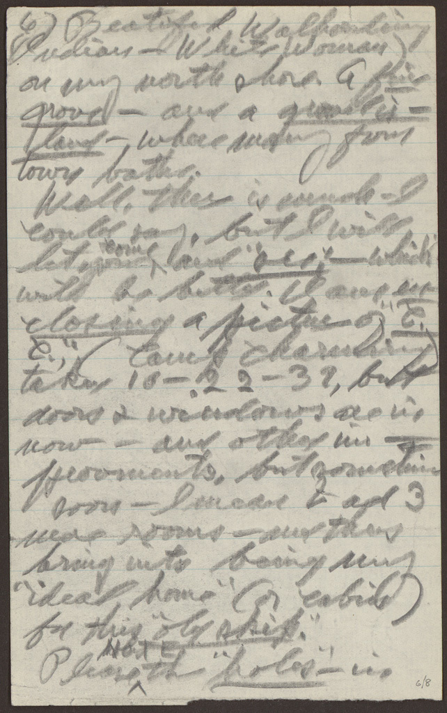 Letter from Pearl R. Nye to Alan Lomax 1