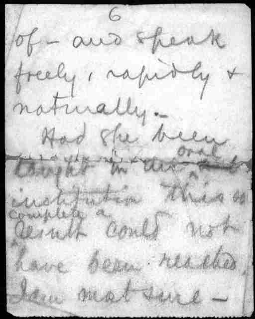 Letter to Alexander Graham Bell, undated