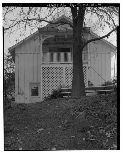 Levi A. Mackey Carriage House, 404 North Grove Street, Lock Haven, Clinton County, PA