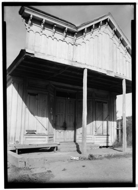 Levy-Glover Store, County Roads 19 & 4, Forkland, Greene County, AL