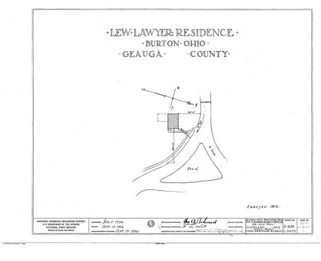 Lew Lawyer Residence, Burton, Geauga County, OH