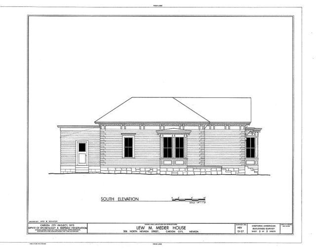 Lew M.  Meder House, 308 North Nevada Street, Carson City, Carson City, NV