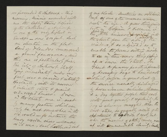 Lewis H. Machen Family Papers: Gresham Family Correspondence, 1834-1925; 1873-1874