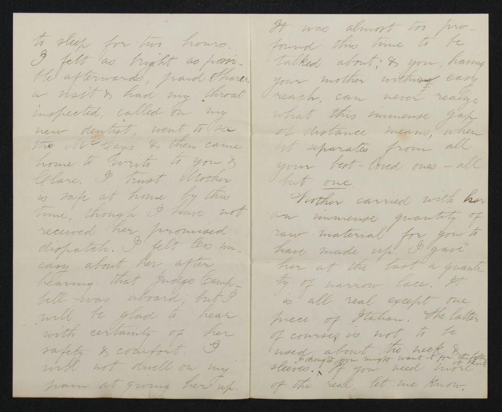 Lewis H. Machen Family Papers: Gresham Family Correspondence, 1834-1925; 1875-1877