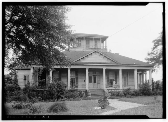 Lewis Llewellyn Cato House, 823 West Barbour Street, Eufaula, Barbour County, AL