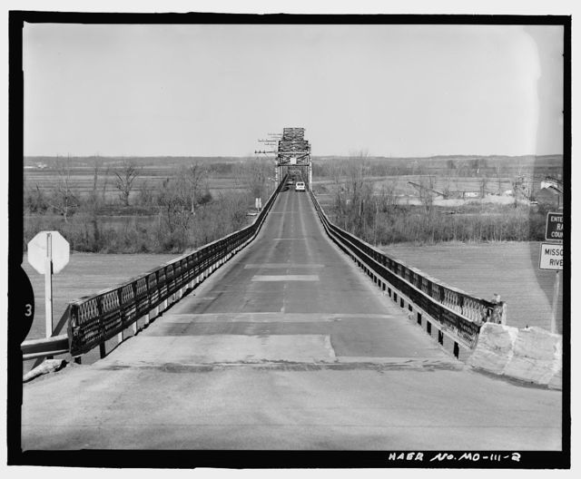 Lexington Bridge, Spanning Missouri River at State Route 13, Lexington, Lafayette County, MO