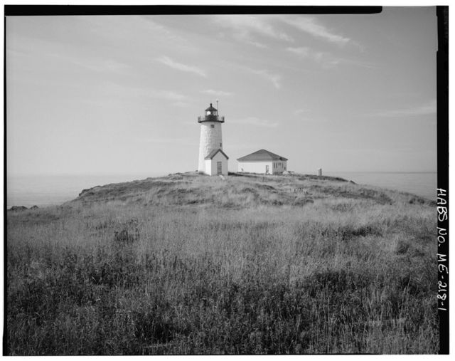 Libby Island Light Station, At southern tip of Libby Island at entrance to Machias Bay, Machiasport, Washington County, ME