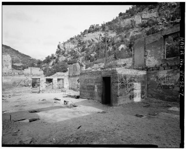 Liberty Fuel Company, Mine Office, Old Latuda Townsite, Spring Canyon, Standardville, Carbon County, UT