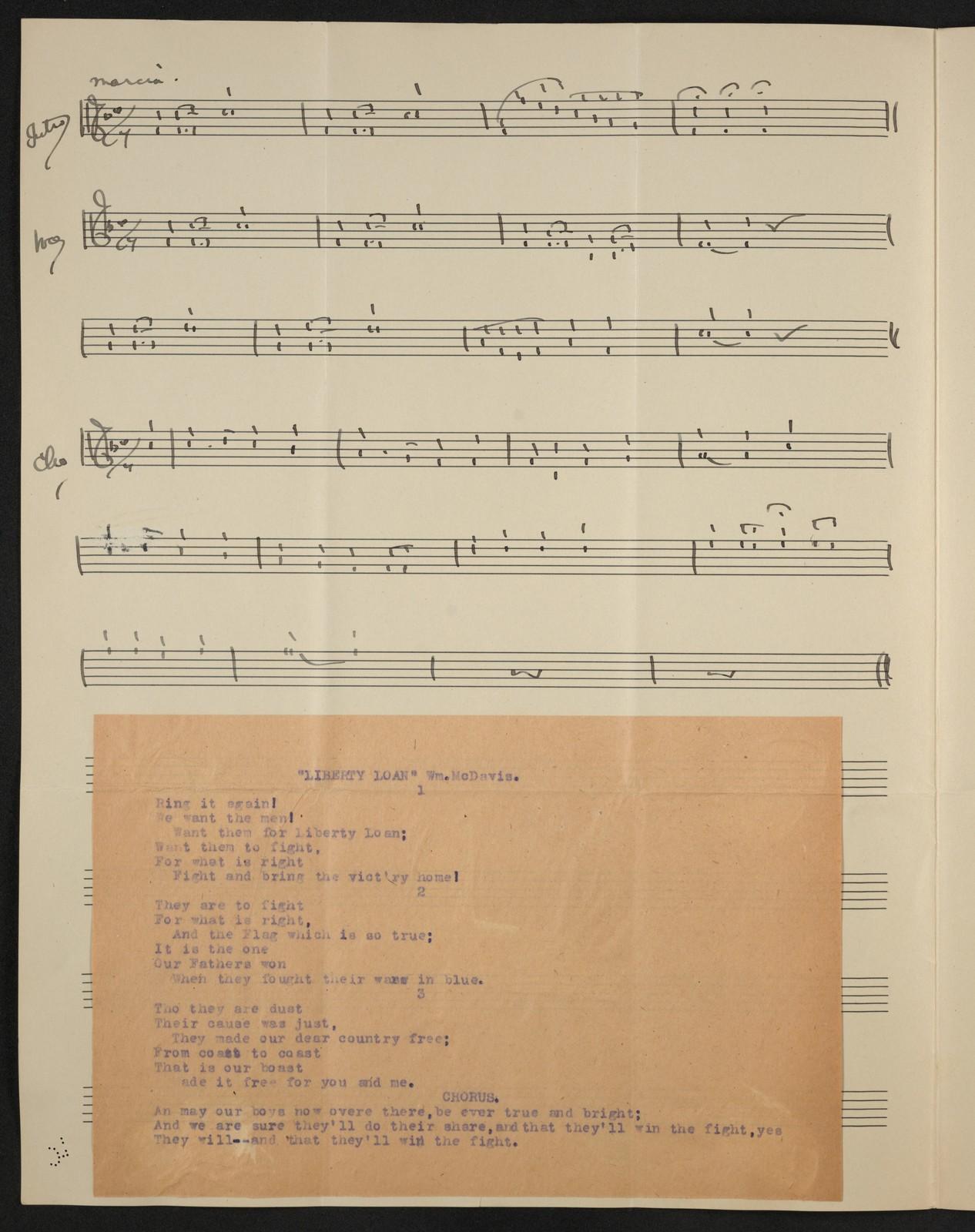 Liberty loan song