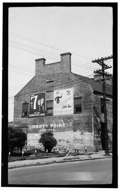 Liberty Point Store, Bow Street & Cool Spring Lane, Fayetteville, Cumberland County, NC