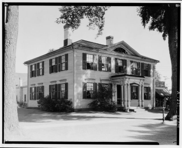 Lieutenant David Billings House, 77 Main Street, Hatfield, Hampshire County, MA