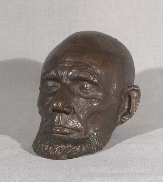 Life Mask of Abraham Lincoln taken during the Lincoln/Douglas Debates by Volk.