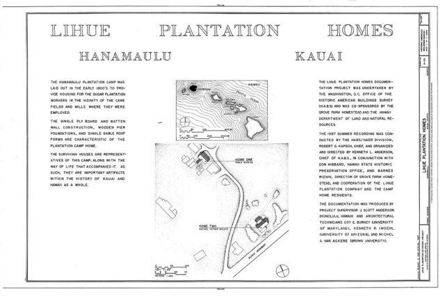 Lihue Plantation House, Kuhio Highway, Hanamaulu, Kauai County, HI