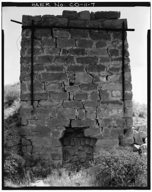 Lime Kiln Near Morrison, Junction of Highway 8 & Rooney Road, Morrison, Jefferson County, CO