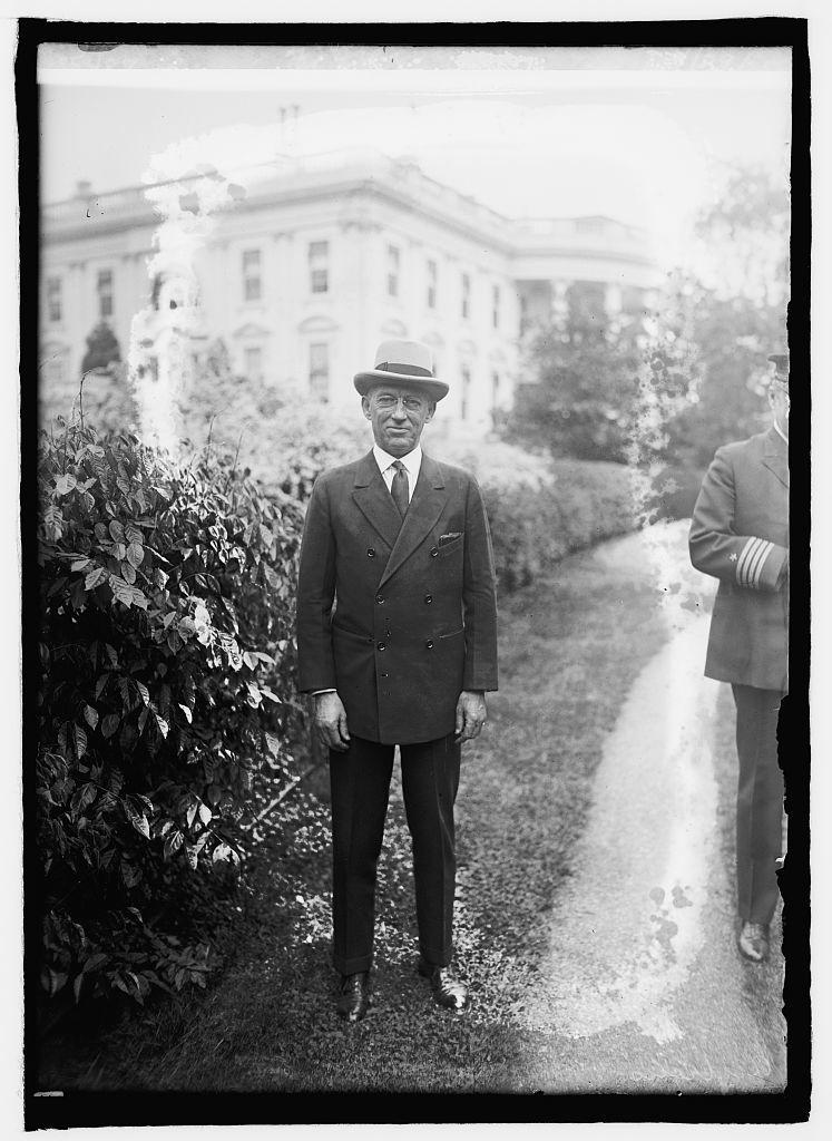 Lincoln G. Andrews, Asst. Sec. of Treasury, 4/29/25
