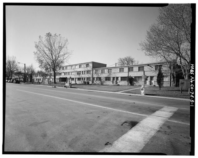 Lincoln Park Homes, Type B Residential Building, West Colfax Avenue & Marispoa Street, Denver, Denver County, CO