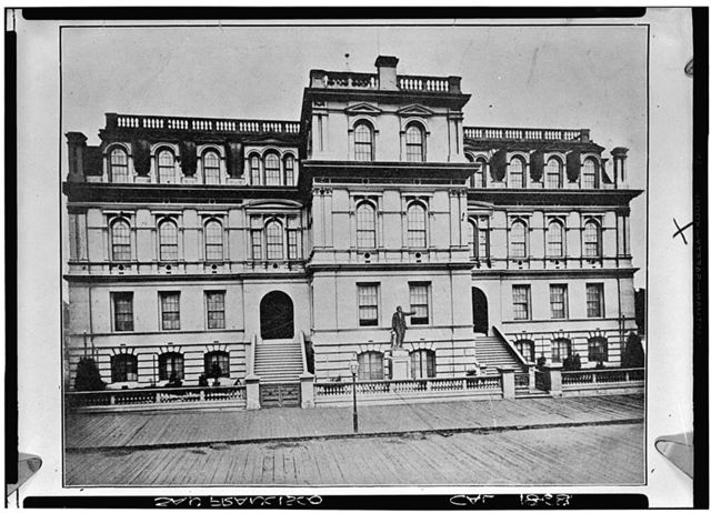 Lincoln School, Historic View, Fifth Street, San Francisco, San Francisco County, CA