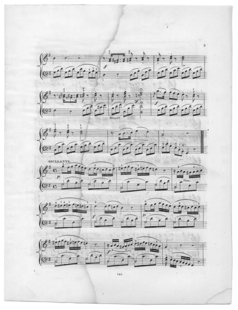 Linda Di Chamounix opera by Donizetti, the bouquet