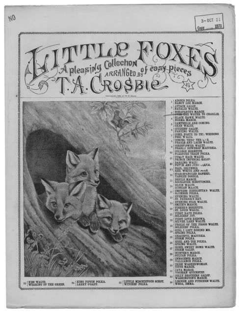 Little foxes, no. 3 & 28