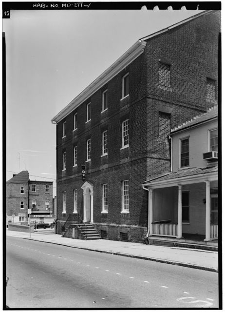 Lloyd-Dulany House, 162 Conduit Street, Annapolis, Anne Arundel County, MD