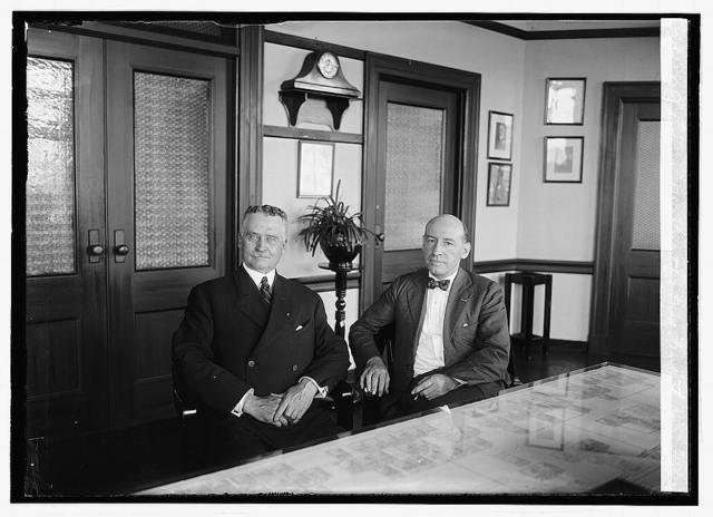 Lloyd M. Brett & Genl. Frank F. Hines, 9/6/23