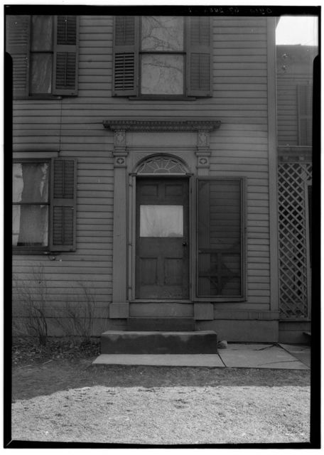 Lois Shively House (Entrance Doorway), Deerfield, Portage County, OH