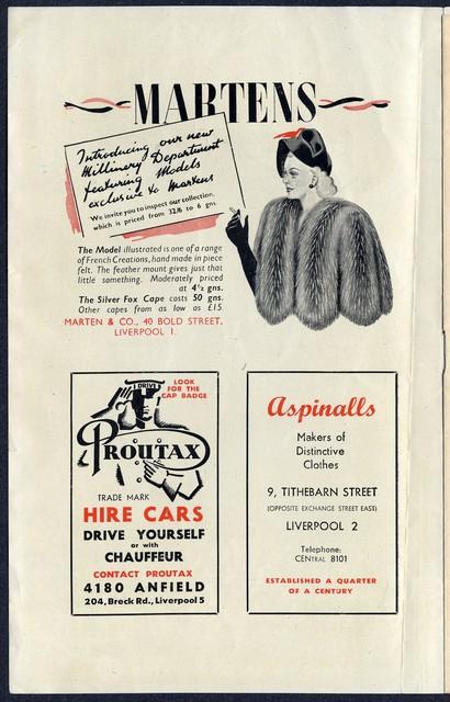 [ London Palladium program booklet - 1949]