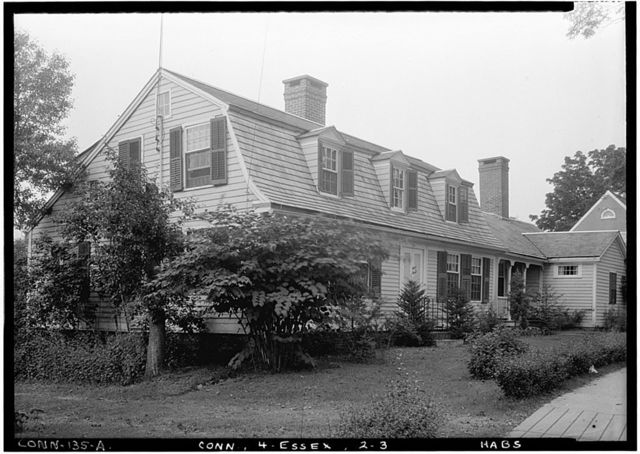 Long Yellow House, 26 West Avenue, Essex, Middlesex County, CT