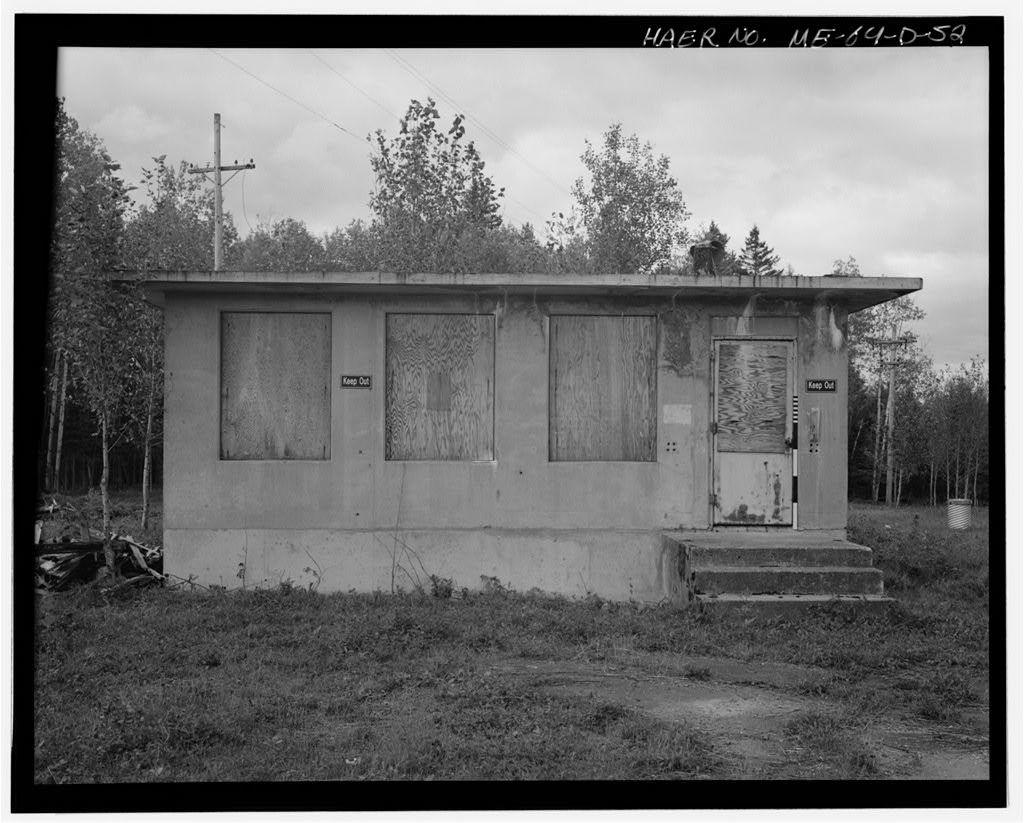 Loring Air Force Base, Weapons Storage Area, Northeastern corner of base at northern end of Maine Road, Limestone, Aroostook County, ME