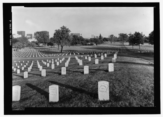 Los Angeles National Cemetery, 950 South Sepulveda Boulevard, Los Angeles, Los Angeles County, CA