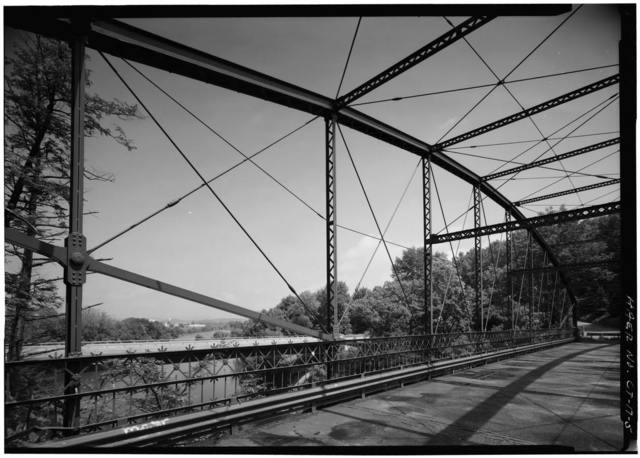 Lover's Leap Lenticular Bridge, Spanning Housatonic River on Pumpkin Hill Road, New Milford, Litchfield County, CT