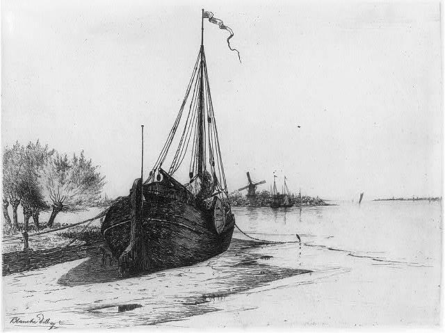Low tide on Dutch River