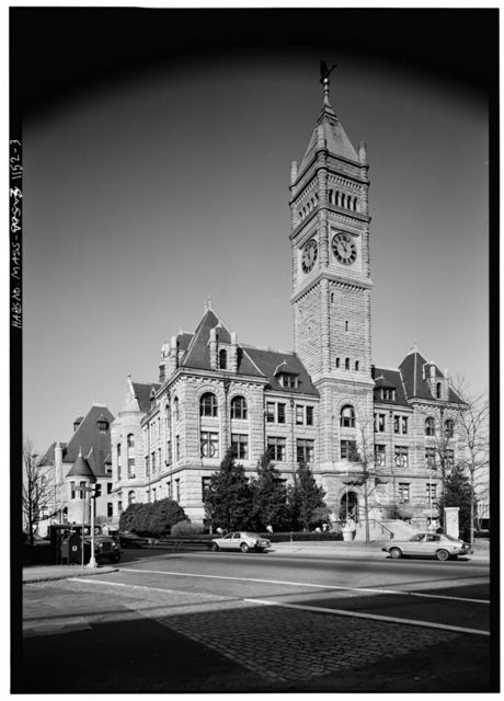 Lowell City Hall, 407 Merrimack Street, Lowell, Middlesex County, MA