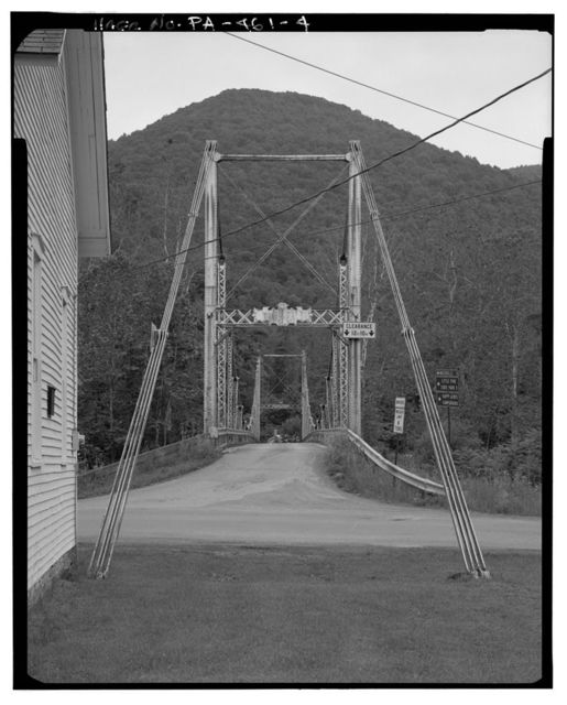 Lower Bridge at English Center, Spanning Little Pine Creek at State Route 4001, English Center, Lycoming County, PA