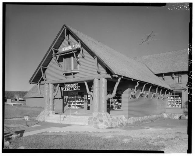 Lower Hamilton's General Store, General Store, 625' Northwest of Old Faithful Inn & 2000' North of Grand Loop Road, West Thumb, Teton County, WY