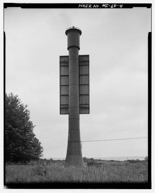 Lower Nicolet West Front Range Light, Neebish Island, Barbeau, Chippewa County, MI