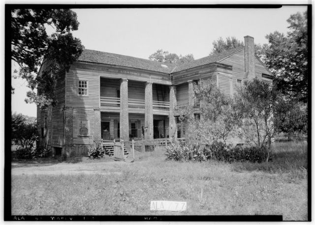Lowrey-Ford House & Kitchen, Washington Street (County Road 45), Marion, Perry County, AL