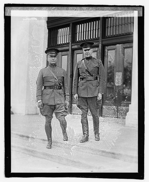 Lt. Col. Edwin S. Hartshorn, Maj. Phillip Matthews, 10/17/21