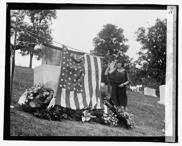 Lt. Sam'l J. Harris monument, 7/20/22