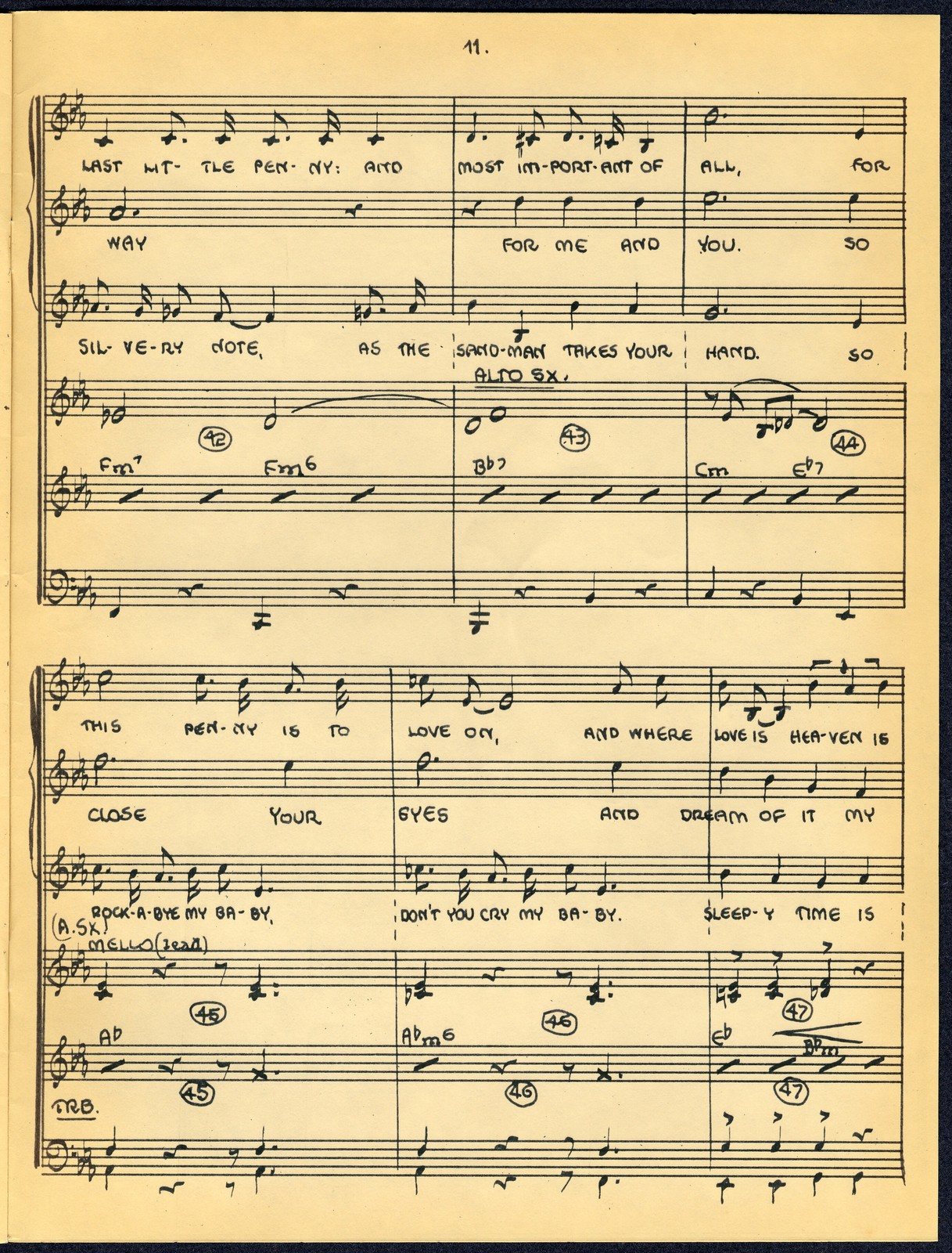 Lullaby in Ragtime