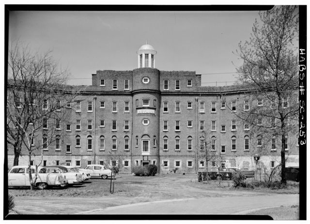 Lunatic Asylum, Bull Street & Elmwood Avenue, Columbia, Richland County, SC