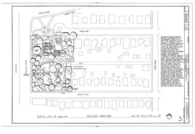 Luther Burbank House, Gardens, 200 Santa Rosa Avenue, Santa Rosa, Sonoma County, CA