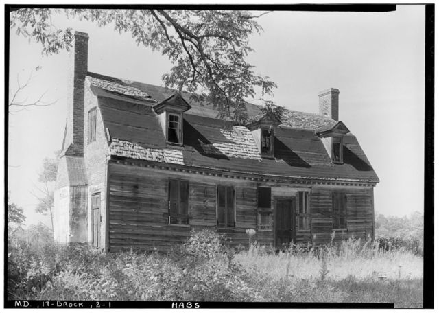 Lyles House, Livingston Road, Fort Washington, Prince George's County, MD