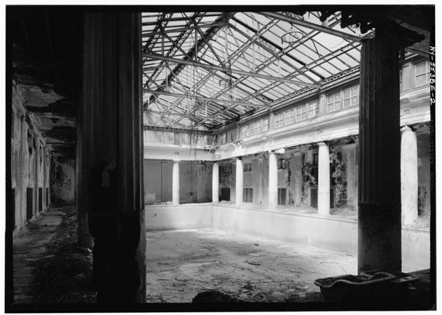Lyndhurst, Swimming Pool, 635 South Broadway, Tarrytown, Westchester County, NY