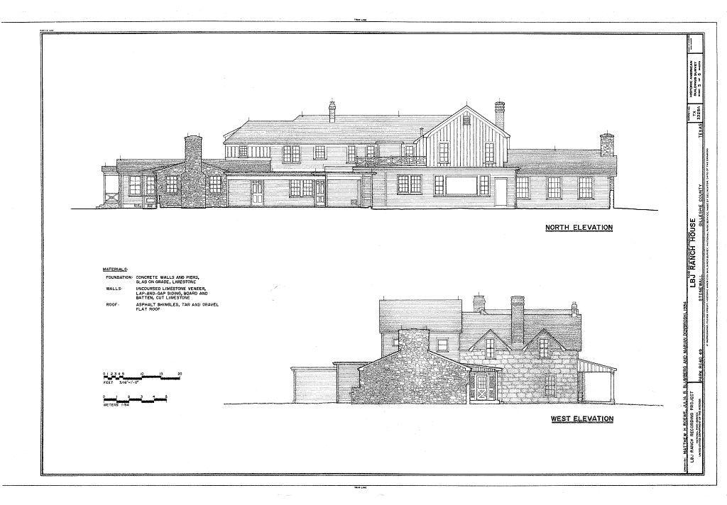 Lyndon B. Johnson Ranch, House, Park Road 49, Stonewall, Gillespie County, TX
