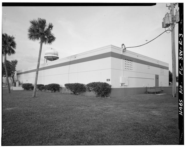 MacDill Air Force Base, Armament & Instrument Inspection & Adjustment Building, 7807 Hanger Loop Drive, Tampa, Hillsborough County, FL