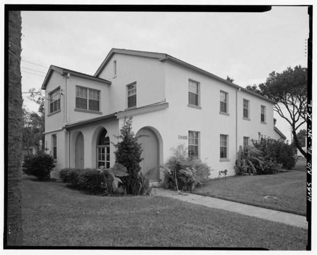 MacDill Air Force Base, Double Non-Commissioned Officers' Quarters, 7410 Hanger Loop Drive, Tampa, Hillsborough County, FL
