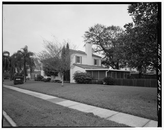 MacDill Air Force Base, Field Officers' Quarters, 2136 Staff Circle, Tampa, Hillsborough County, FL