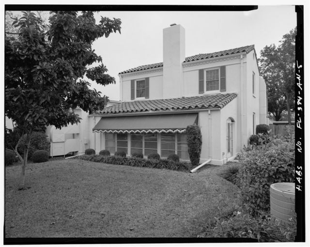 MacDill Air Force Base, Field Officers' Quarters, 7706 Bayshore Drive, Tampa, Hillsborough County, FL