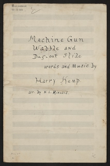 Machine gun wabble and dug-out slide